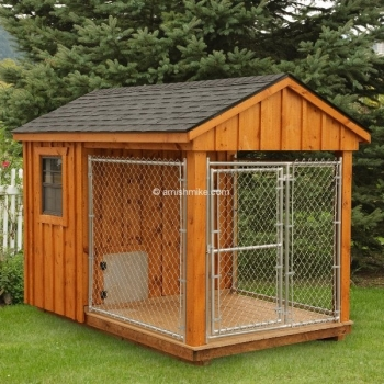 6' x 10' Board and Batton Kennel