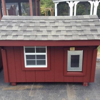 4' x 6' Dog Cabin