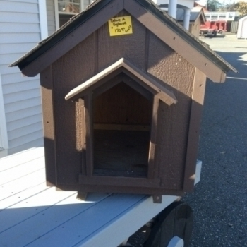 Deluxe A Dog House Small $170