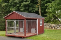 8' x 14' Double Kennel