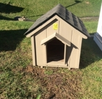 Deluxe A Dog House Medium $200