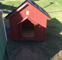 Deluxe A Dog House Large $260