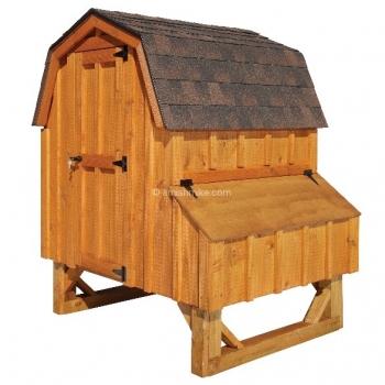 4' x 4'  Dutch BB Cedar Coop