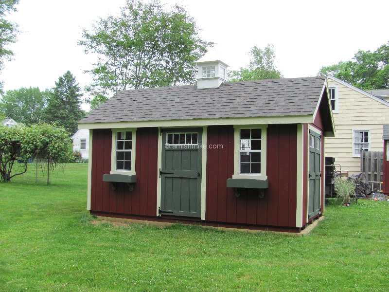 New England Series Elite Sheds - Amish Mike- Amish Sheds, Amish ...