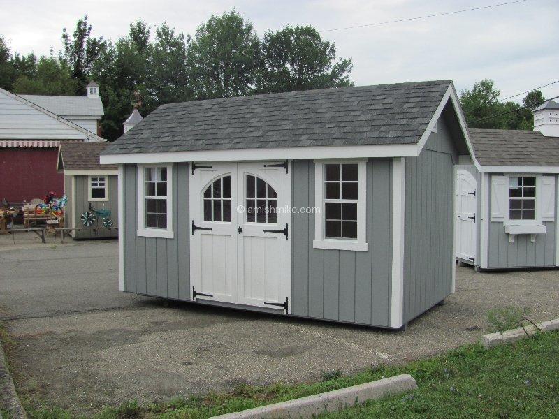 Amish Wood Garages : Amish wood sheds nj