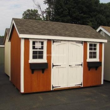 8' x 12' New England Cape Cod Cedar Stain