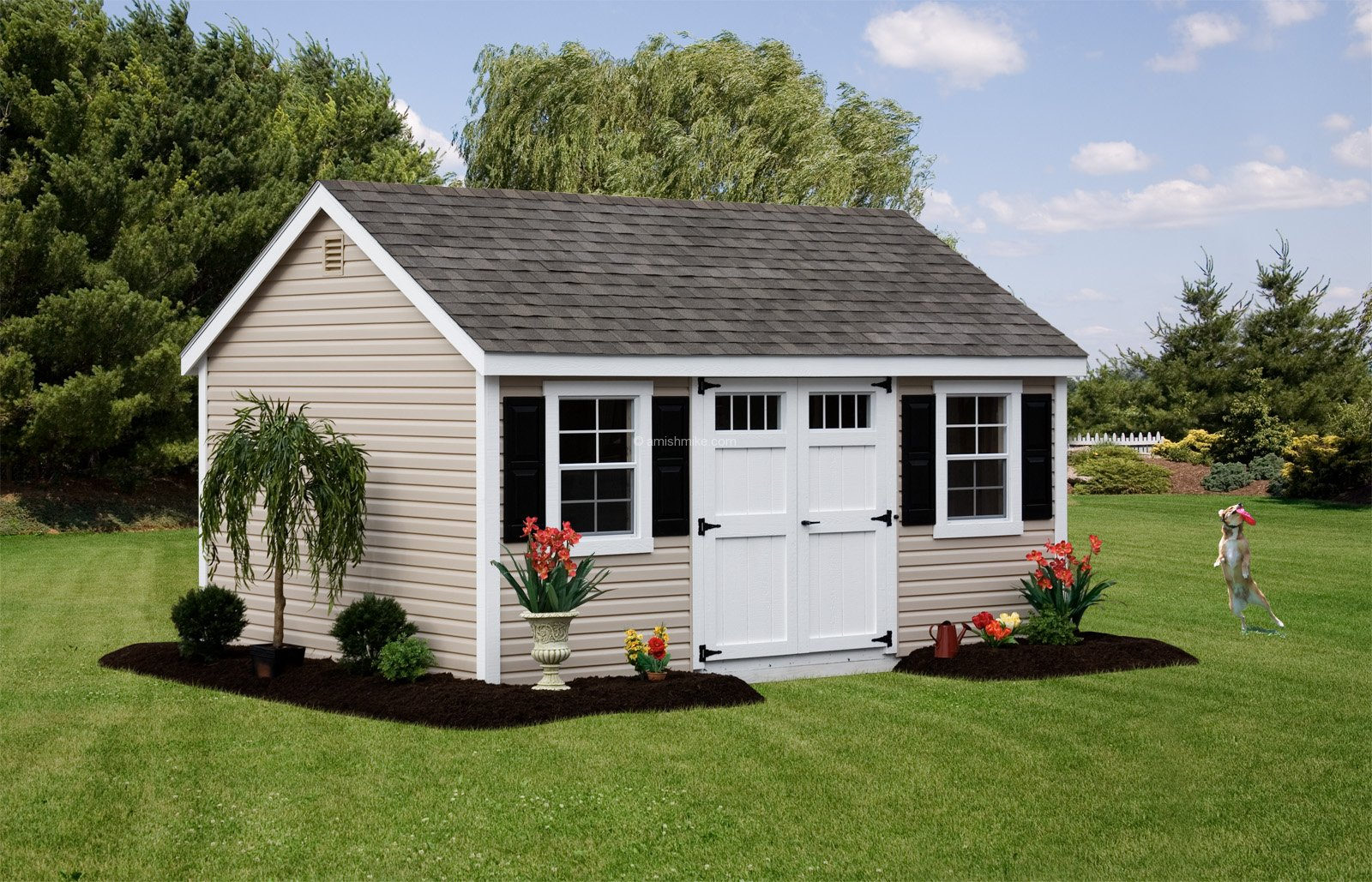 12 x 16 new england cape cod - Garden Sheds Nj