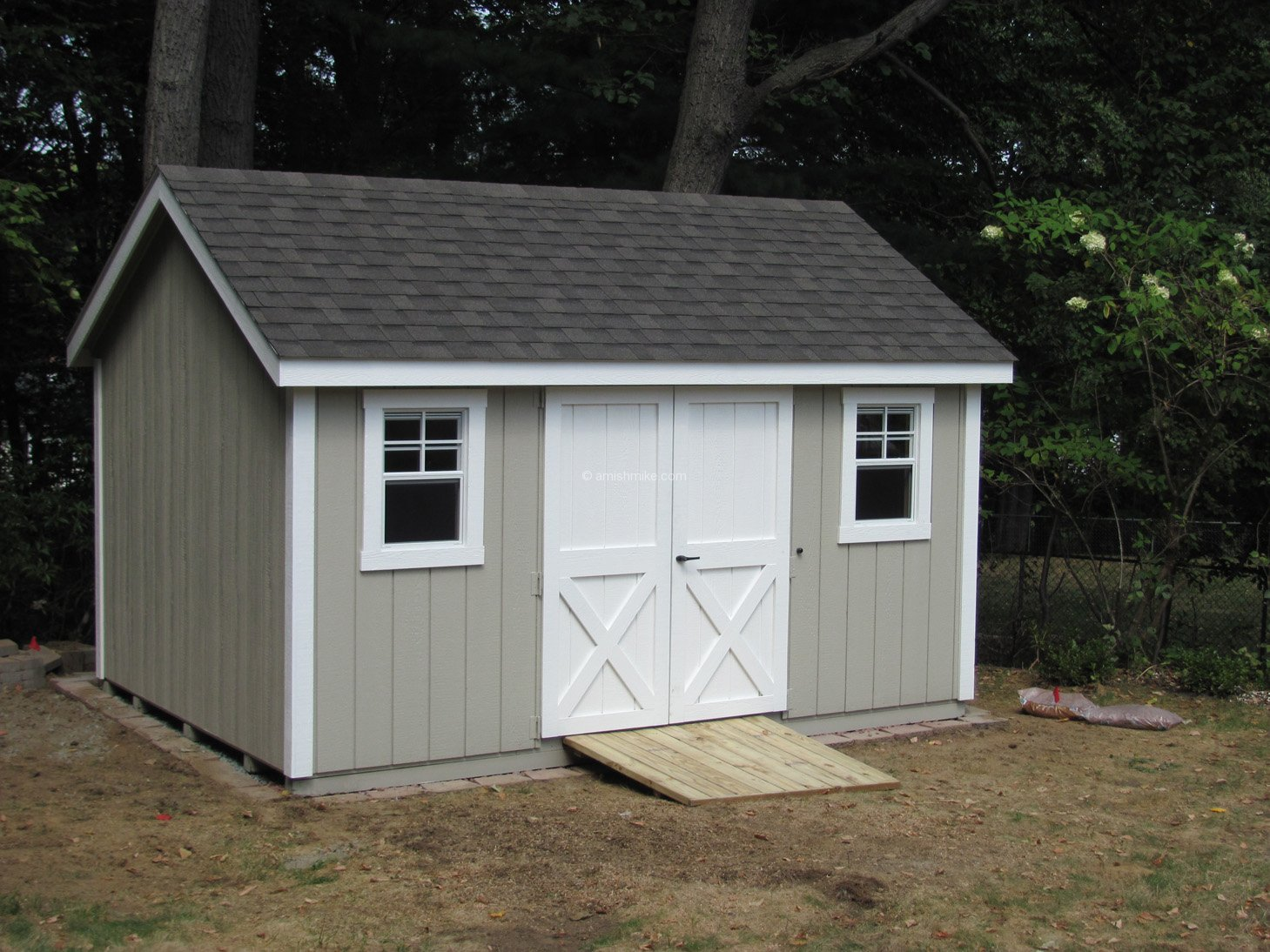 10x14 Shed 10x14 Vinyl Shed With Double Top Plates And