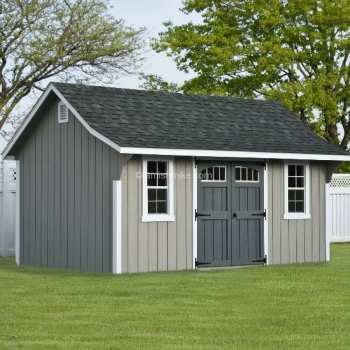 10' x 16' Elite Cape Shed