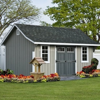 10' x 10' Elite Cape Shed