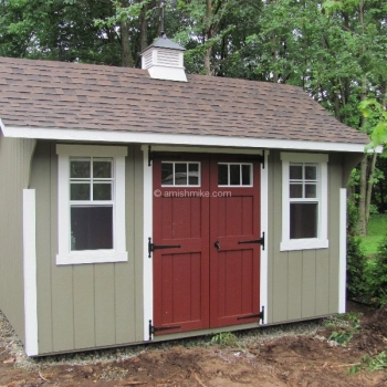 8' x 12' Elite Cape Shed