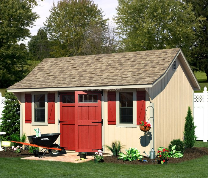 New England Poolside Sheds Amish Mike Amish Sheds