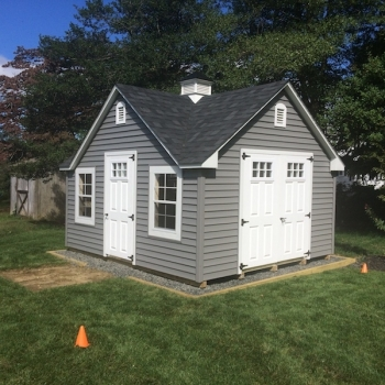 12x16 New England Colonial with Dormer