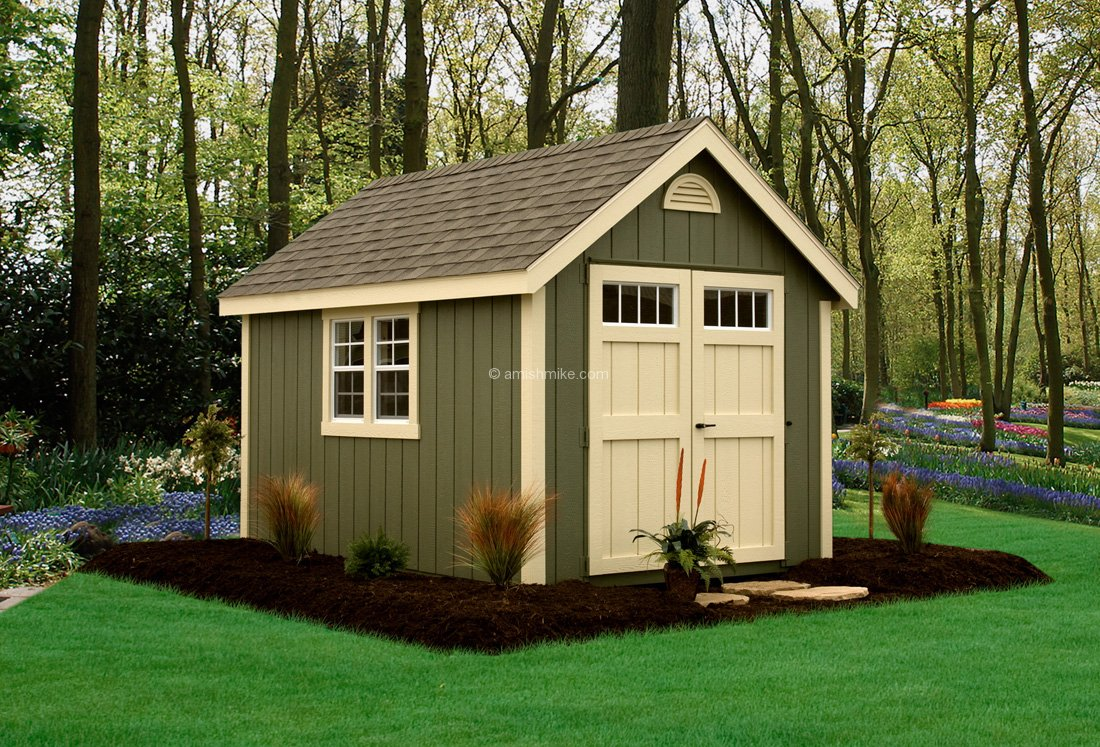 8 x 12 new england colonial - Garden Sheds Nj