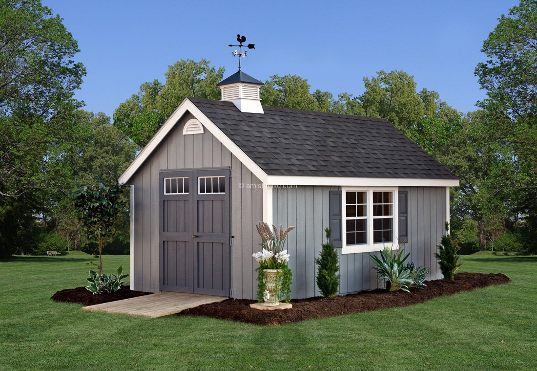 10 x 16 new england colonial - Garden Sheds New Hampshire