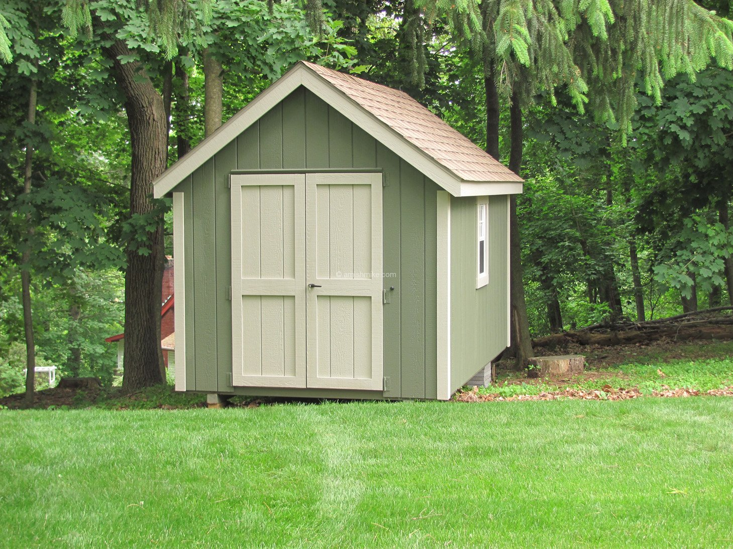 New England Colonial Sheds Amish Mike Amish Sheds