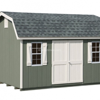 Classic Dutch Barn Green