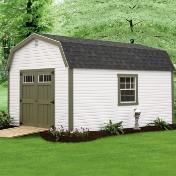 10' x 16' Traditional Irish Garden Shed
