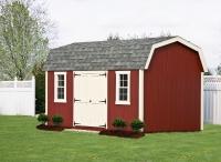 10' x 16' Elite Dutch Red Shed