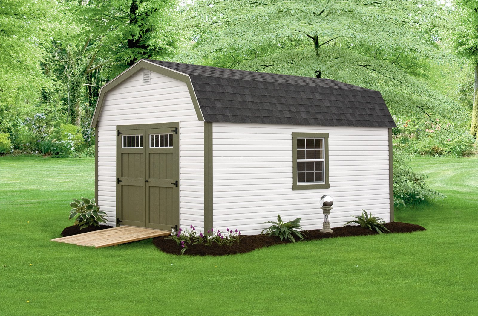 10 x 16 traditional irish garden shed - Garden Sheds Nj