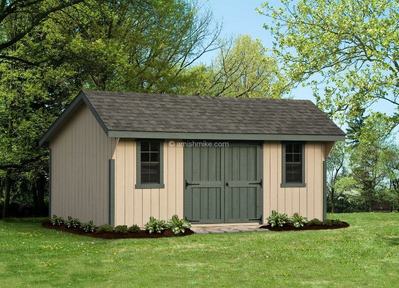 New england quaker sheds amish mike amish sheds amish for 12x18 shed window