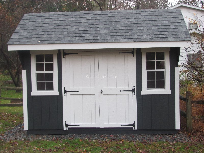 Sy Sheds Amish Wood Shed Must See