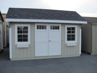 10' x 14' Elite Quaker Shed