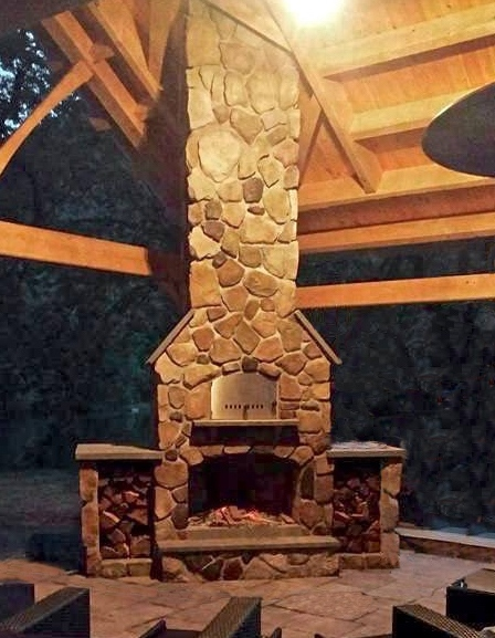 Fire Pits & Fireplaces - Amish Mike- Amish Sheds, Amish ...