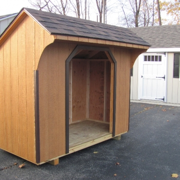 4 x 8 firewood shed