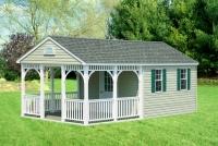 Gable Style Pool House