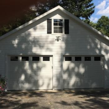 24x24 7 pitch 2 car garage