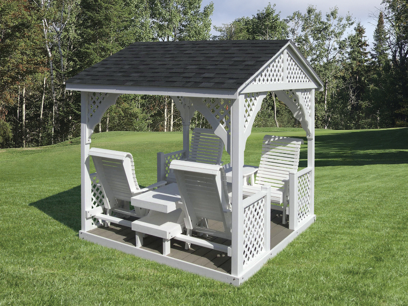 Gazebo Swings Amish Mike Amish Sheds Amish Barns