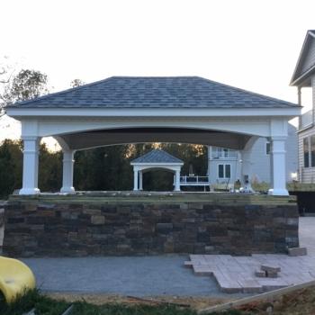 (2) 10x16 Hampton Pavilions