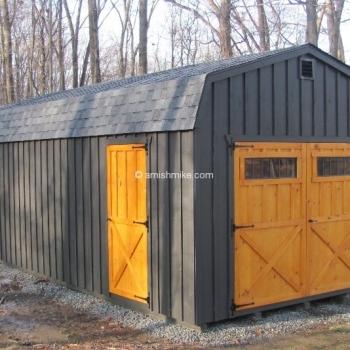 Board Batten Dutch style Garage