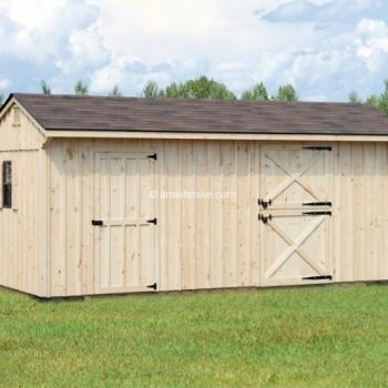 10' x 20' Horse Barn