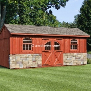 10' x 16' Carriage Shed