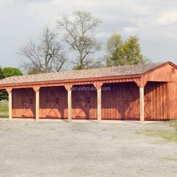 10' x 48' Horse Barn