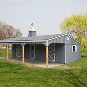 12' x 36' Horse Barn