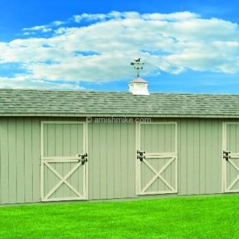 Horse Barns and Run Ins - Amish Mike- Amish Sheds, Amish