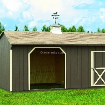 12' x 18' Horse Barn