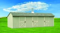12' x 30 Horse Barn