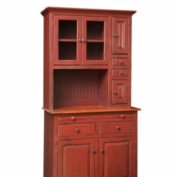 VIN-4-A Medium Hoosier Hutch 36wx74hx18d