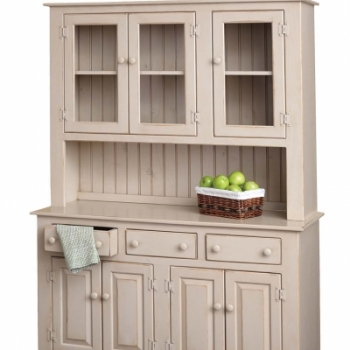 K-1207-China Cabinet w Glass 50wx19dx74h