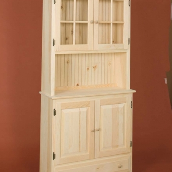 DR-291 Countryside Hutch 36wx13dx75h