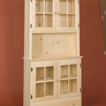 DR-298 Country Hutch 36wx13dx75h