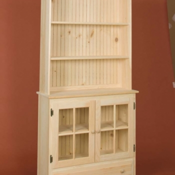 DR-299 Open Top Country Hutch 36wx13dx73 1/2h