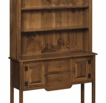 IE-27-H-O Sofa Table Hutch 48wx13 1/4dx74h