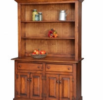 HB-4-2 4' Homestead Hutch 53wx80hx20d
