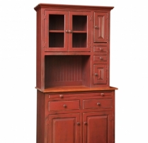 HB-4-A Medium Hoosier Hutch 36wx74hx18d