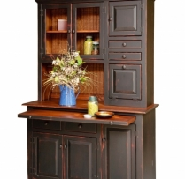 HB-4-B-1 Large Hoosier Hutch 50wx76hx21d